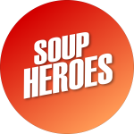 Schaue Dir die Suppenhelden an. Mehrmals wöchentlich auf Twitch!